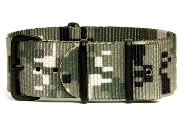Camo NATO Strap - Digital Green