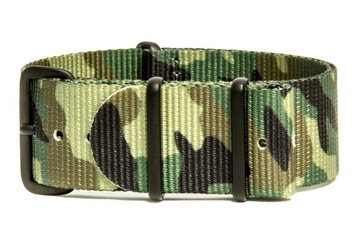 Camo NATO Strap - Jungle Green