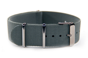 Solid Grey watch strap