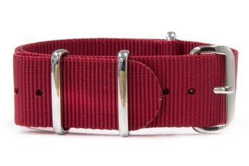 Red watch strap