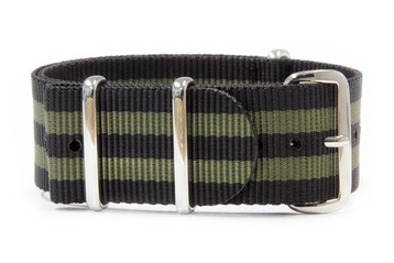Black and Green NATO strap